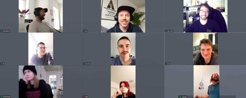 Teambesprechung via GoToMeeting bei BLYNK